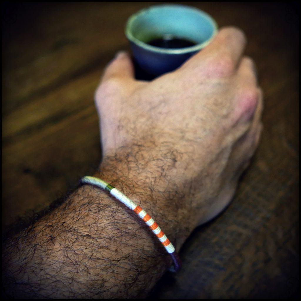 Bracelet pour homme de l'Araignée Gypsie