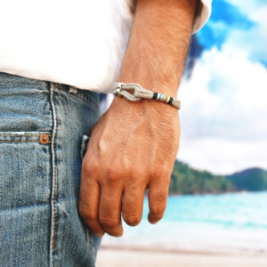 Bracelet chanvre homme cabestan